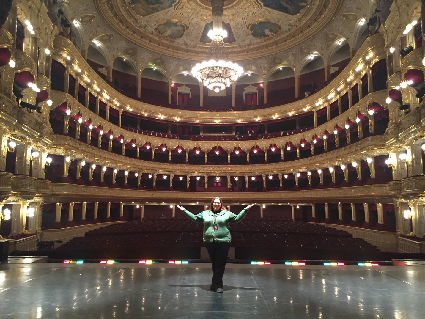 "The Opera and Ballet Theatre in Odessa, Ukraine was pretty special, and was the ""home theater"" of Tchaicovsky."