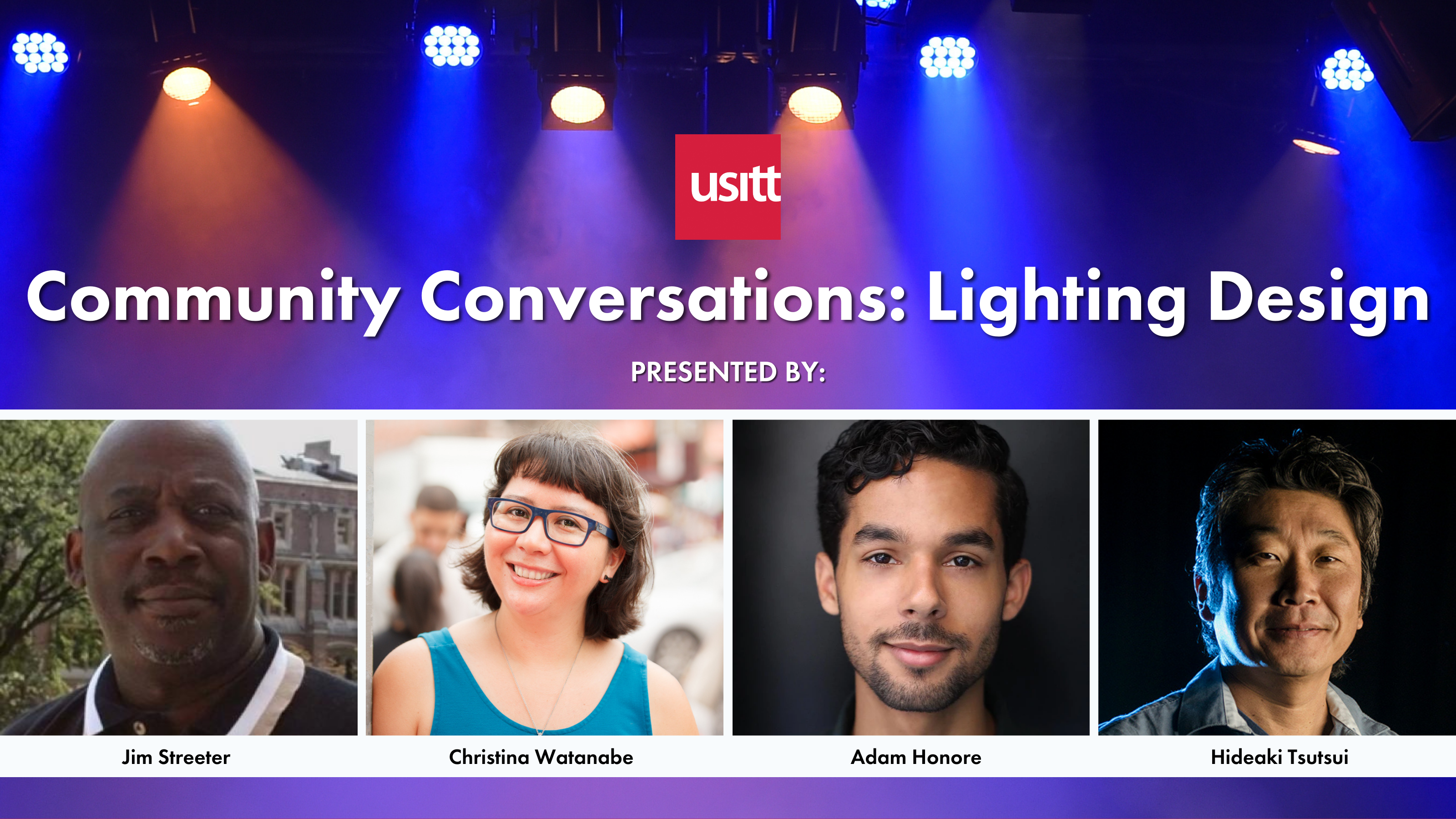Community Conversations Lighting Podcast Graphic